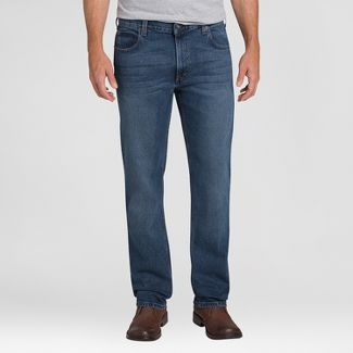 Dickies Mens Relaxed Straight Fit Jeans - Medium Tint Denim 32x34