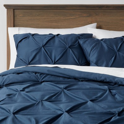 Pinch Pleat Duvet Cover & Sham Set - Threshold™