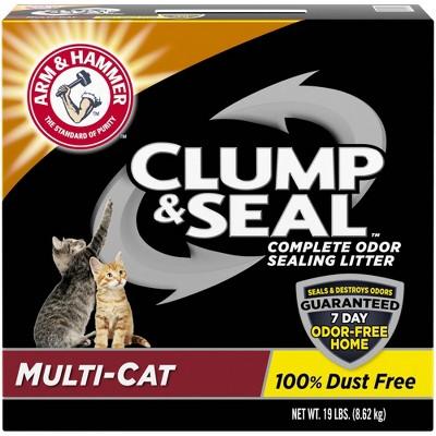 Cat Litter: Arm & Hammer Clump & Seal
