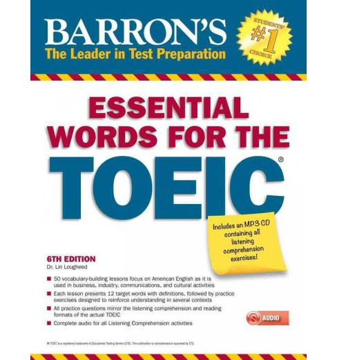 Barron's Essential Words for the TOEIC (Paperback) (Lin Lougheed) - image 1 of 1