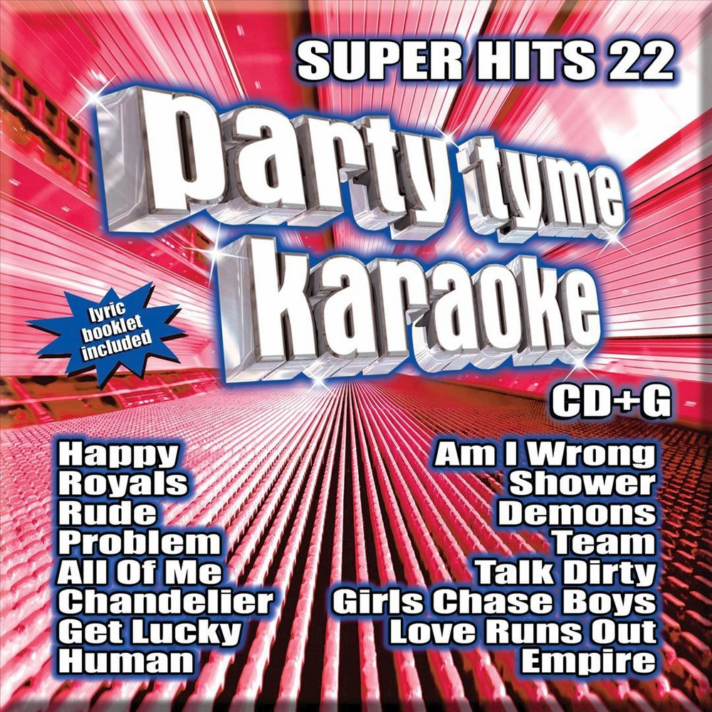 Karaoke - Party Tyme Karaoke: Super Hits Vol. 22 (CD) Buy