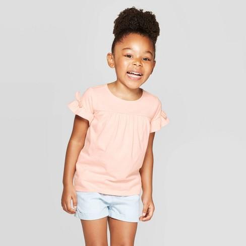 OshKosh B'Gosh Toddler Girls' Short sleeve T-Shirt - Pink - image 1 of 3