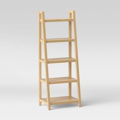 "72"" Falkland Wood Ladder Bookshelf - Threshold™"