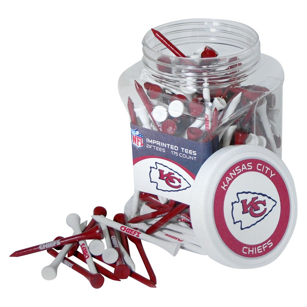Team Golf - NFL 175 Tee Jar, Kansas City Chiefs