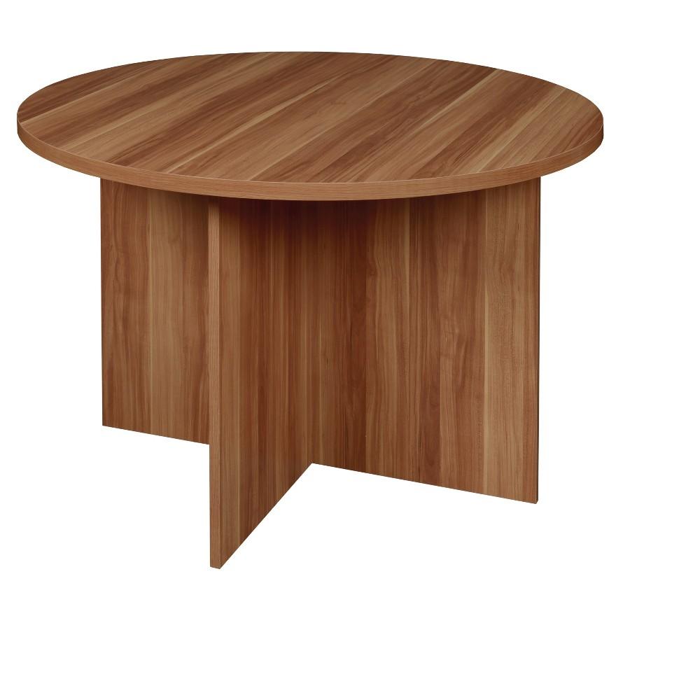 "Image of ""Mod 42"""" Round Table Warm Cherry - Niche"""
