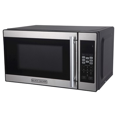 BLACK+DECKER™ ® 0.7 cu ft 700 Watt Microwave Oven Black EM720CPN-P