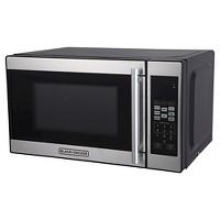 Deals on Black+Decker 0.7 Cu Ft 700w Microwave Oven EM720CPN-P
