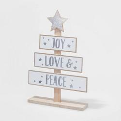 Joy Love Peace Standing Sign - Wondershop™