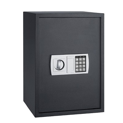 Deluxe Electronic Digital Safe Black - Fleming Supply