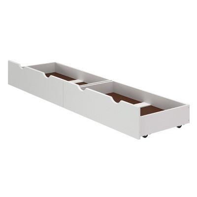 Set of 2 Kids' Underbed Storage Drawers - Alaterre Furniture