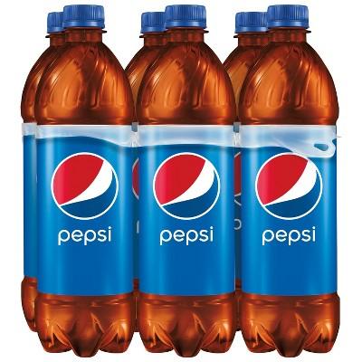 Pepsi Cola Soda - 6pk/24 fl oz Bottles