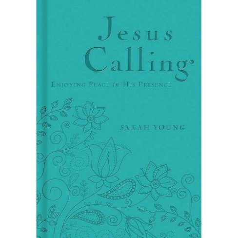 Jesus Calling - (Jesus Calling(r)) by  Sarah Young (Leather_bound) - image 1 of 1