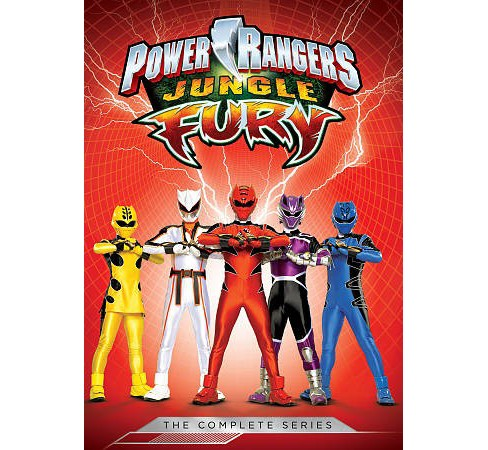 Power Rangers:Jungle Fury Complete Se (DVD) - image 1 of 1