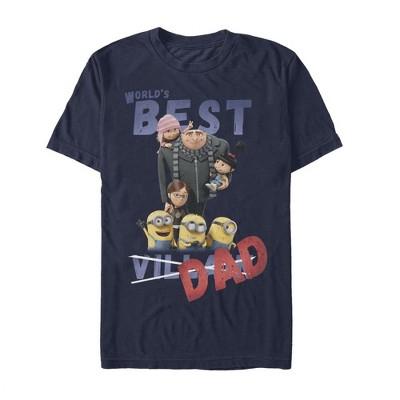 Men's Despicable Me World's Best Villain Dad T-Shirt