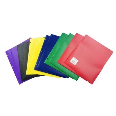 12pk Plastic Filing Portfolio Multicolored - up & up™