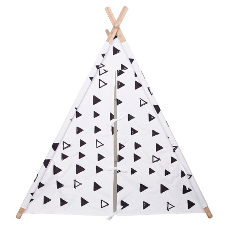 A Frame Tent - White and Black - Pillowfort™ - image 1 of 4