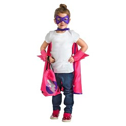Little Adventures Girls' Drawstring Backpack - Hero, Adult Unisex