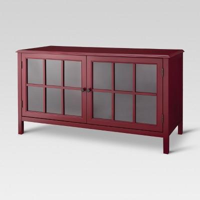 Windham TV Stand - Red - Threshold™