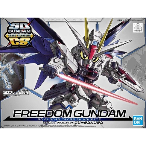 Bandai Hobby SDCS Gundam Cross Silhouette Freedom Gundam SD Model Kit - image 1 of 3