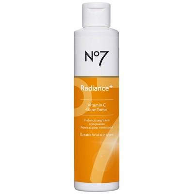 No7 Radiance+ Vitamin C Glow Toner - 6.7 fl oz