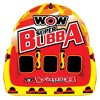 Wow Super Bubba Inflatable 3 Person Deck Seating Towable Water Floating Tube - image 2 of 4