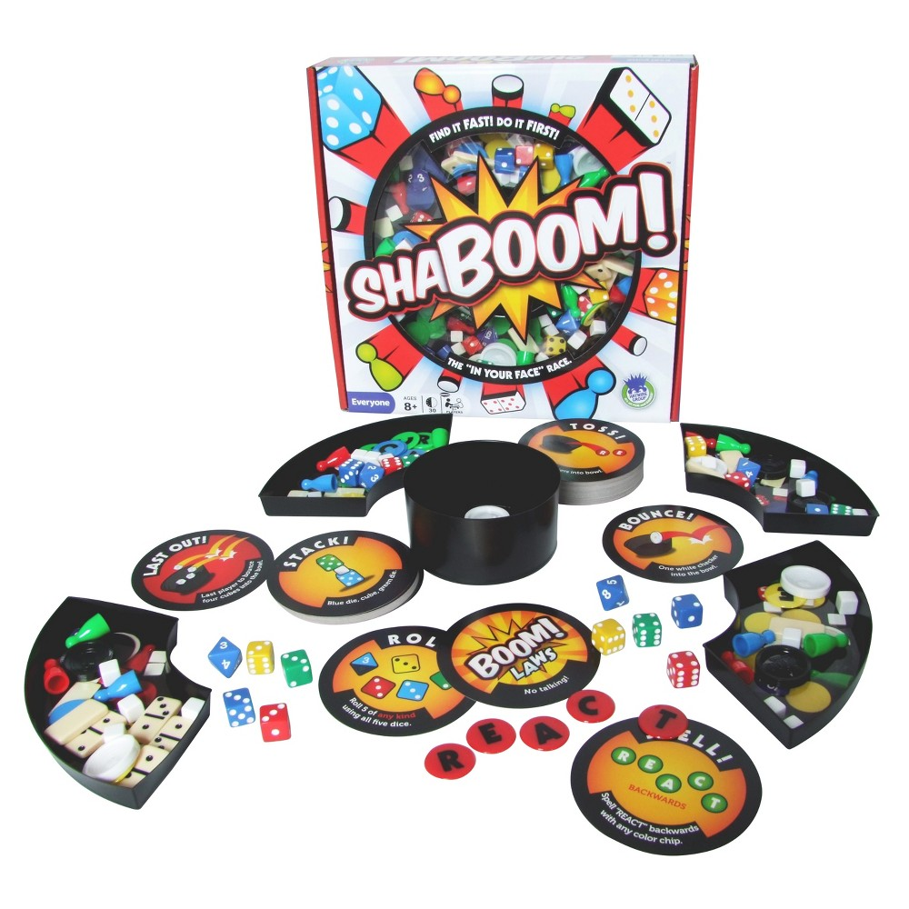 Shaboom Board Game, Board Games