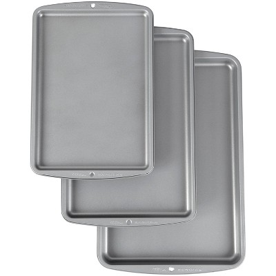 Wilton 3pc Cookie Sheets