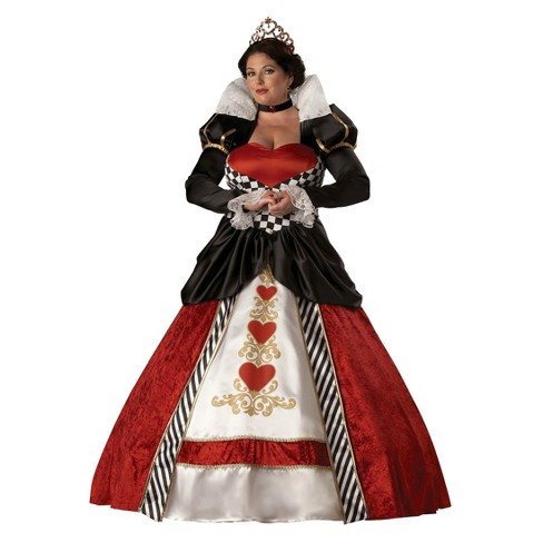 Women's Plus Size Queen of Hearts Costume - image 1 of 1