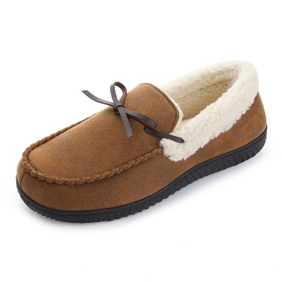 RockDove Men's Harrison Sherpa Lined Moccasin Slipper