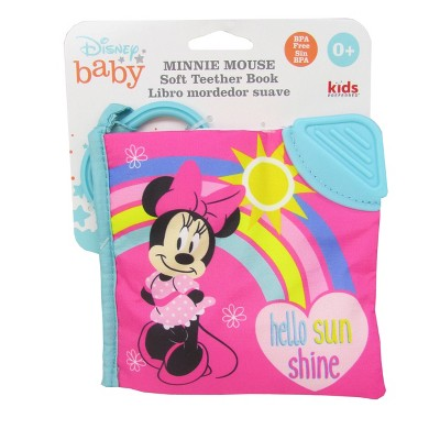 Disney Baby Minnie Mouse Soft Book Pink