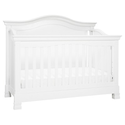 Million Dollar Baby Classic Louis 4-in-1 Convertible Crib with Toddler Bed Conversion Kit - White