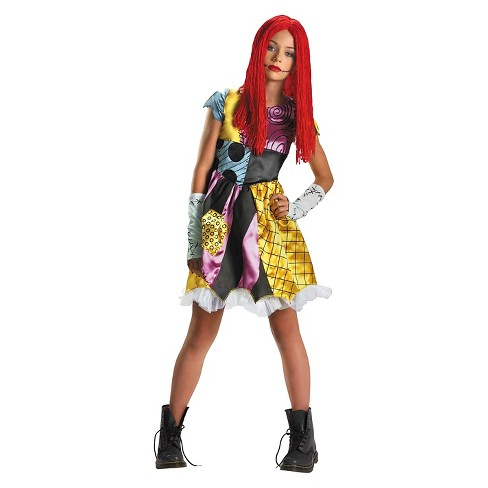 The Nightmare Before Christmas Sally Girls' Costume - image 1 of 1