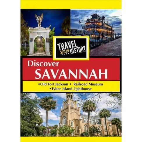 Travel Thru History: Savannah (DVD) - image 1 of 1