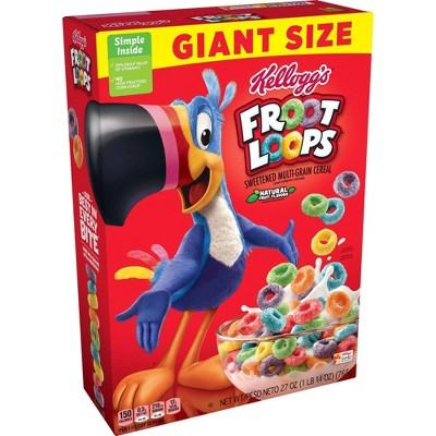 Froot Loops Giant Cereal - 27oz