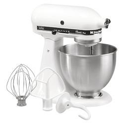 KitchenAid Classic Plus 4.5qt Stand Mixer White KSM75