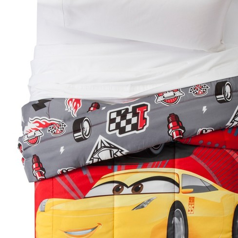 Cars® Red Comforter (Twin) Red - image 1 of 3