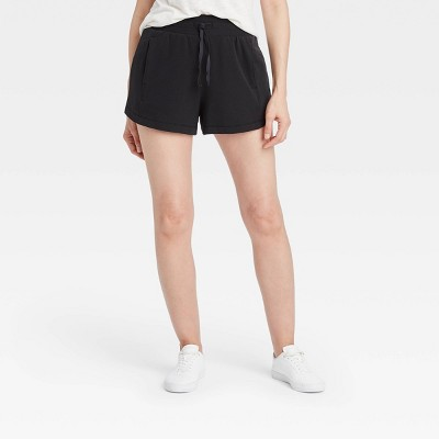 "Women's Mid-Rise French Terry Shorts 3.5"" - All in Motion™"
