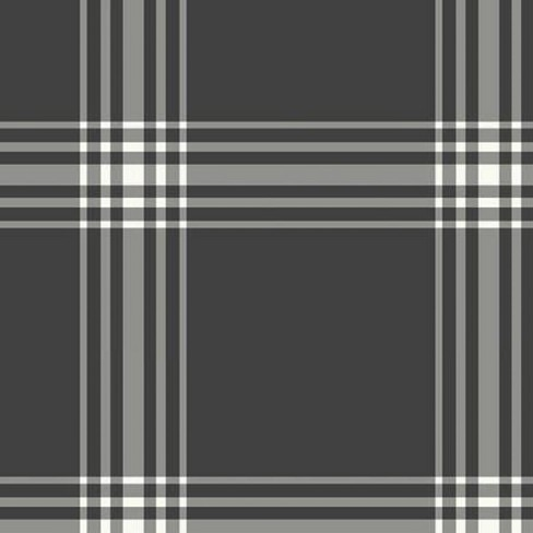 Sample Square Wallpaper Black Grounded Plaid - Hearth & Hand™ with Magnolia - image 1 of 1