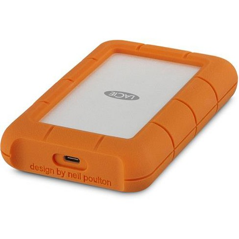 LaCie Rugged USB-C 3.1 1TB External Hard Drive - image 1 of 4