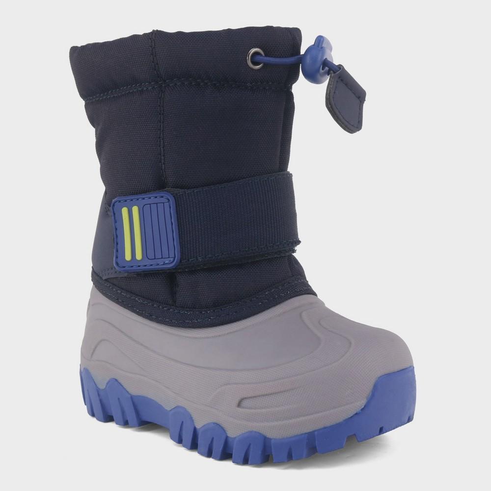 Toddler Boys' Barrett Winter Boots - Cat & Jack Navy 12, Blue