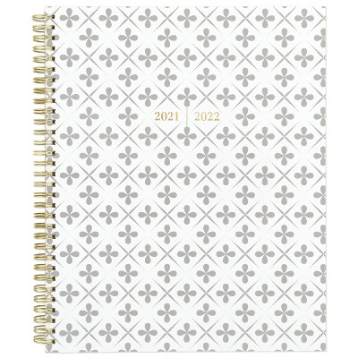 """2021-22 Academic Planner 8.5"""" x 11"""" Plastic Weekly/Monthly Athens Coral - Cambridge"""