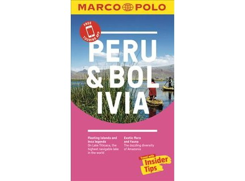 Marco Polo Peru -  (Marco Polo Peru and Bolivia (Travel Guide)) (Paperback). - image 1 of 1