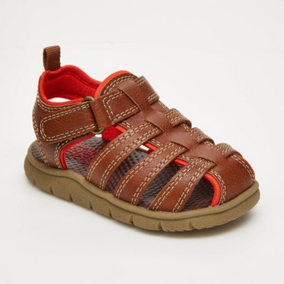 Baby Boys' Fisherman Sandals - Just One You® made by carter's Brown