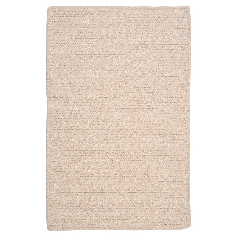 Westminster Wool Blend Braided Area Rug - Natural - (10'x13') - Colonial Mills