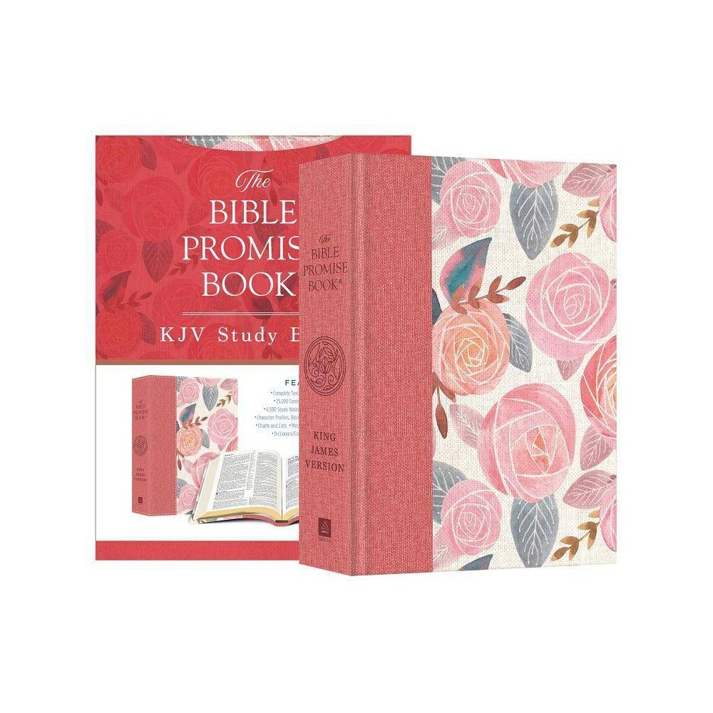Bible Promise Book KJV Bible--Rose Garden - by Compiled by Barbour Staff (Hardcover)