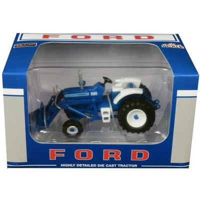 Ford 9000 Wide Front Tractor with Loader 1/64 Diecast Model by SpecCast