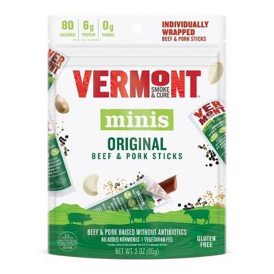 Vermont Smoke & Cure Original Beef & Pork Sticks Multipack 6ct / .05oz