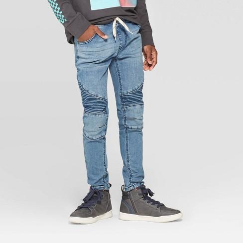 Boys' Super Skinny Pull-On Jeans - Art Class™ Blue : Target