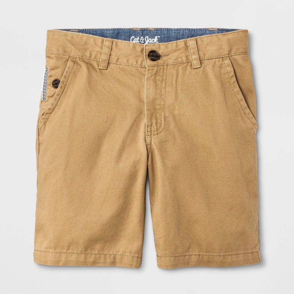 Boys' Chino Shorts - Cat & Jack Brown 5