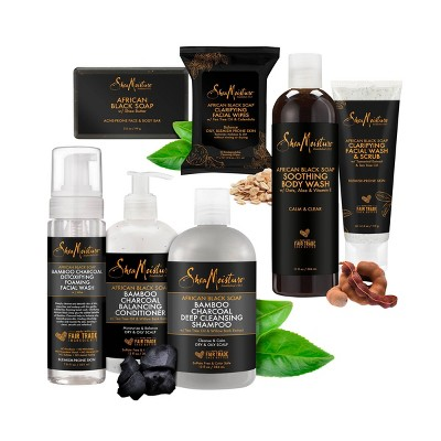 SheaMoisture African Black Soap Collection